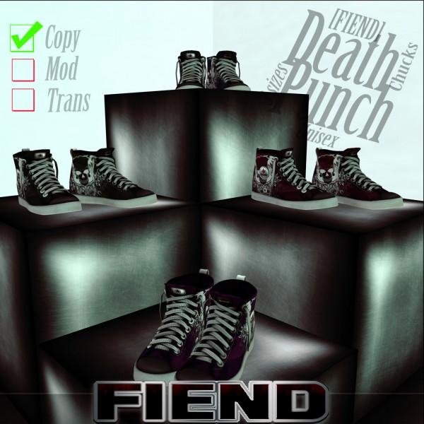 fiend-deathpunchchucks promo